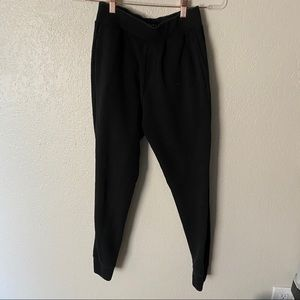 ZARA Daily outfit essential black joggers pants M
